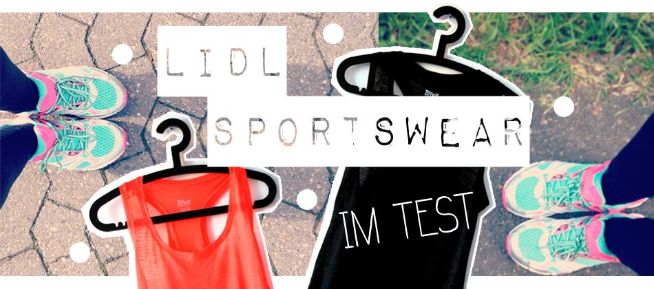 Header LIDL Sportswear im Test Tops Laufschuhe türkis pink