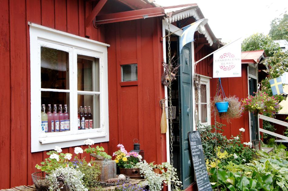 Café Grassagården Strängnäs Mittagspause Lunch Fika Mälaren