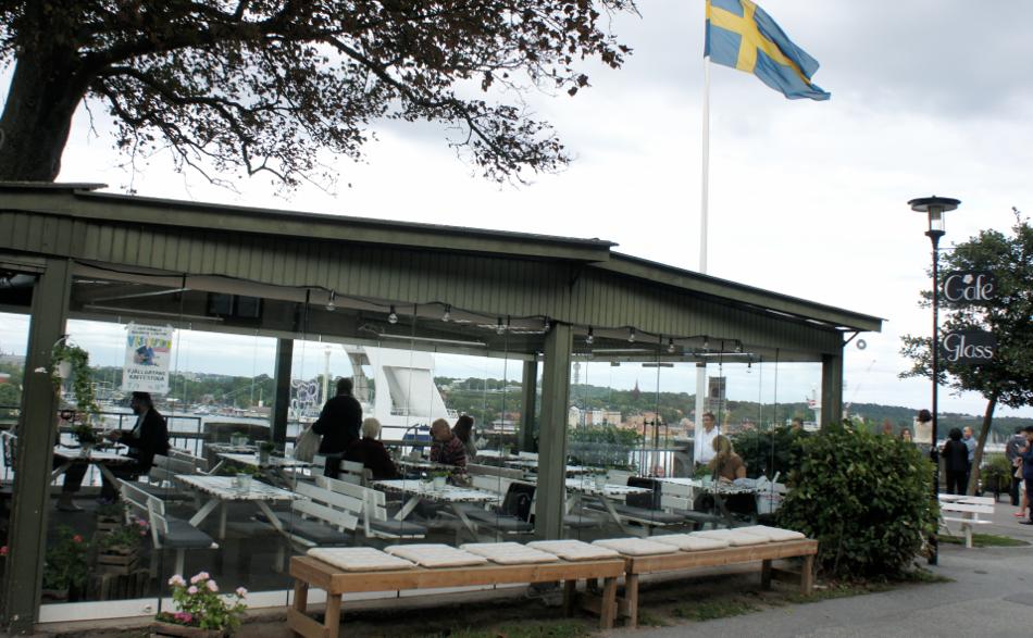 Stockholm Fjällgatans Kaffestuga Södermalm perfect view Aussichtsplattform