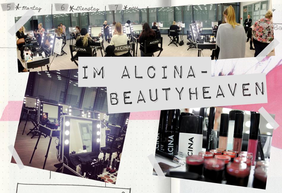 Beautyheaven bei Alcina Schminkkoffer Make Up Test Schminken
