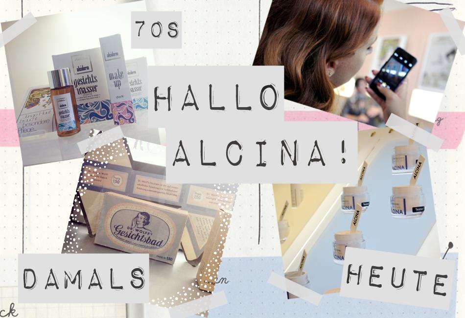 Beauty Kosmetik Gesichtspflege Alcina früher heute Zeitreise 70s