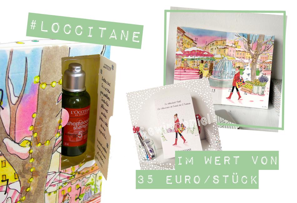 Gewinnspiel L'Occitane Adventskalender 2014