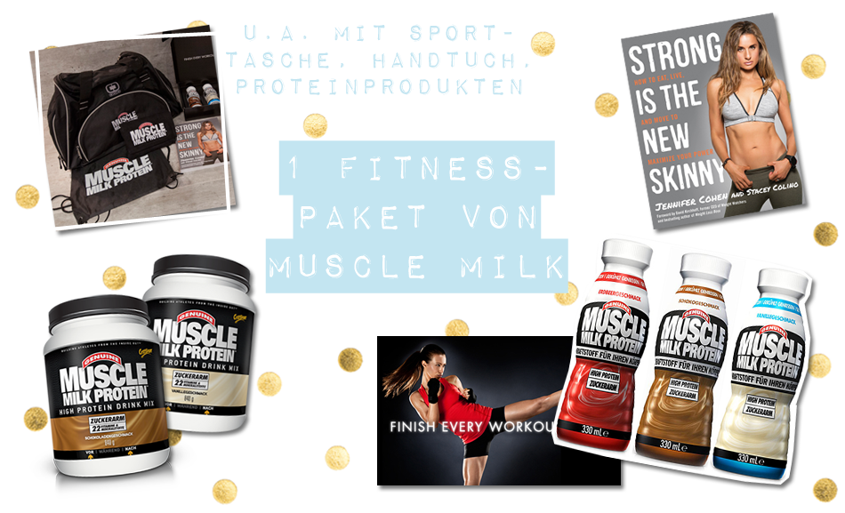 Blogger Adventskalender 2014 Muscle Milk Protein Fitness