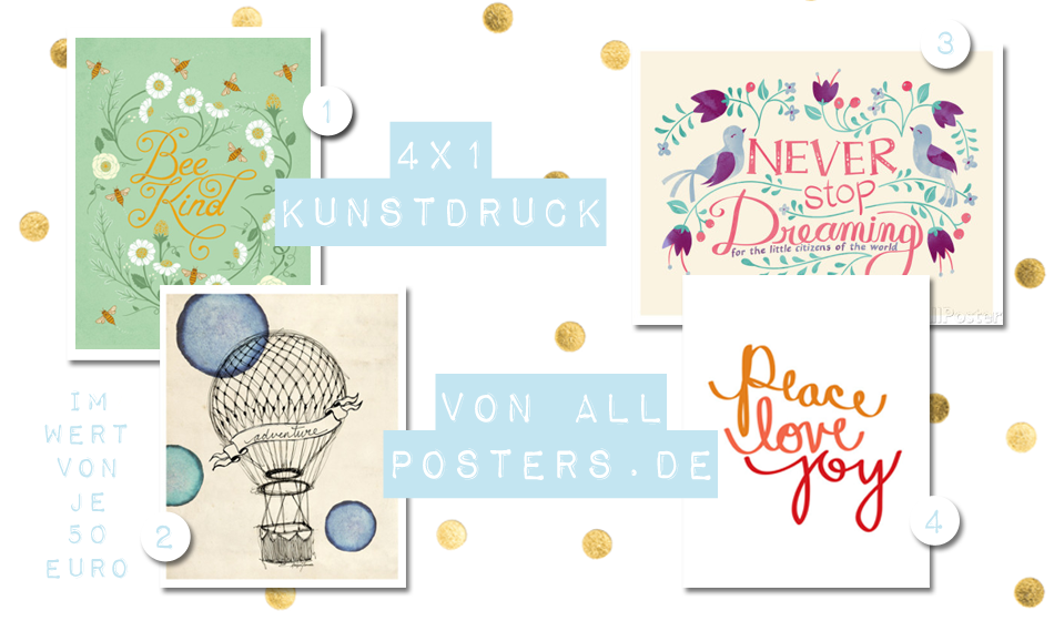 Blogger Adventskalender 2014 allposters Interior