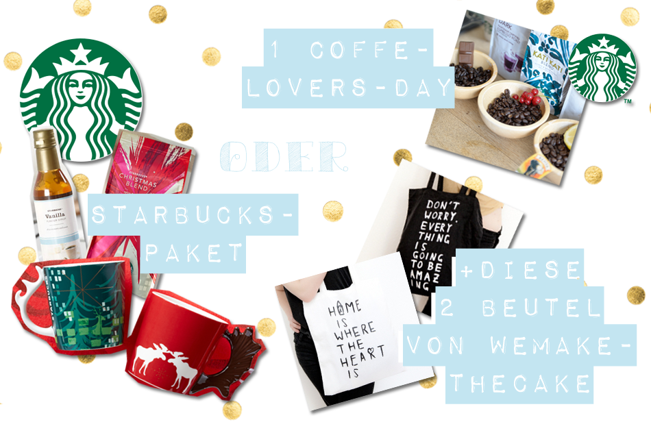 Blogger Adventskalender 2014 Starbucks Food Wemakethecake