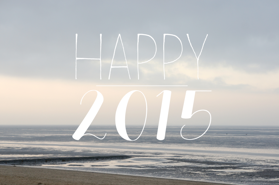 cuxhaven strand silvester happy 2015 deich