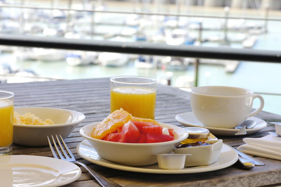 Brighton Unterkunft Frühstück