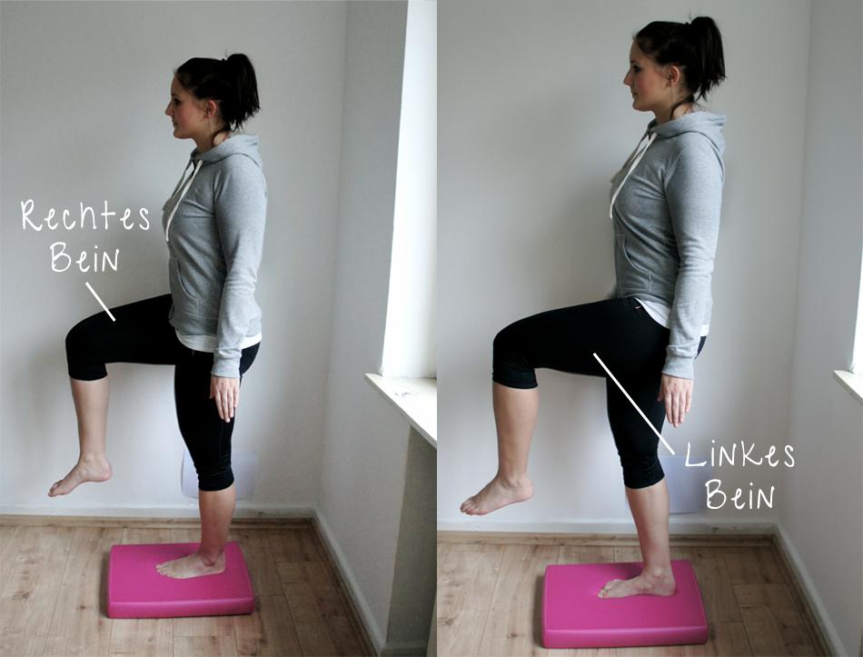 Gleichgewicht trainieren Airex Balance Pad