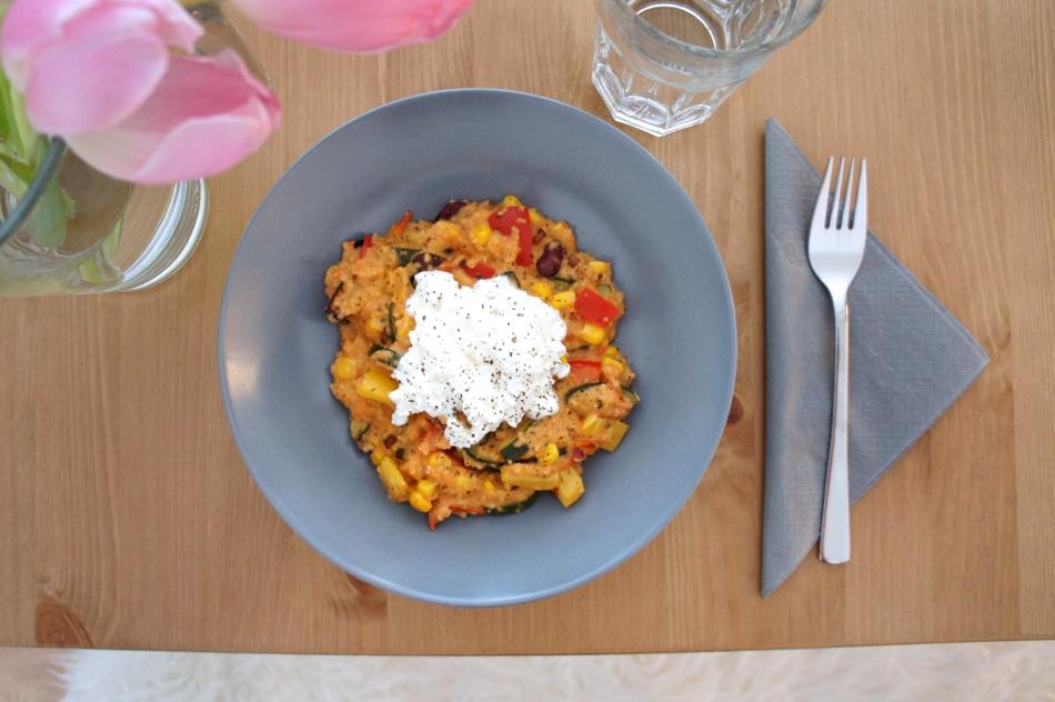 Couscous Gemüse Tofu Pfanne Rezept