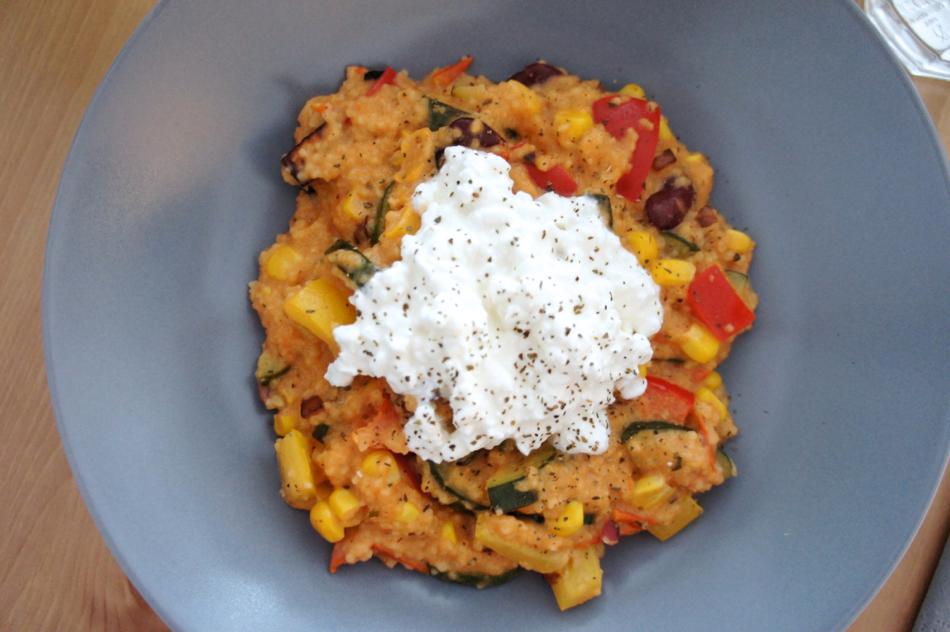 Rezept Couscous-Gemüse-Pfanne mit Tofu